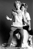 Un giovane Anthony Kiedis e Flea dei Red Hot Chili Peppers, 1986