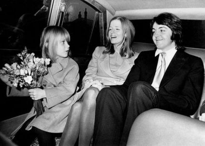 12 marzo 1969 - Paul McCartney sposa Linda Louise Eastman a Londra