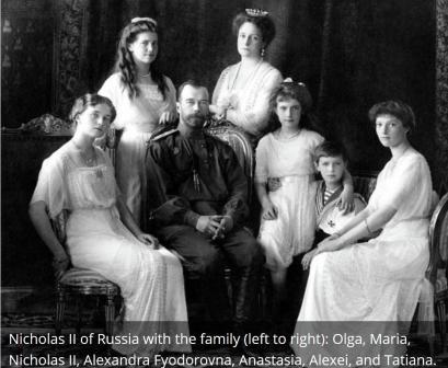 1917 - Lo Zar Nicola II di Russia abdica al trono russo e suo fratello il Granduca diventa zar