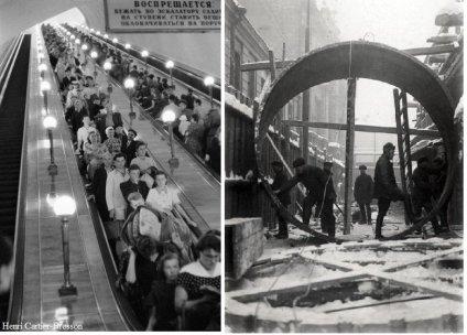 1954. La linea circolare della metropolitana di Mosca è completata
