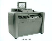 1956 - Ampex Corp crea il primo videoregistratore commerciale