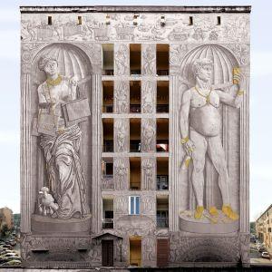 Blu @ Rome, Italy