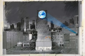Blue Marble by Sebastian Errazuriz @ New York