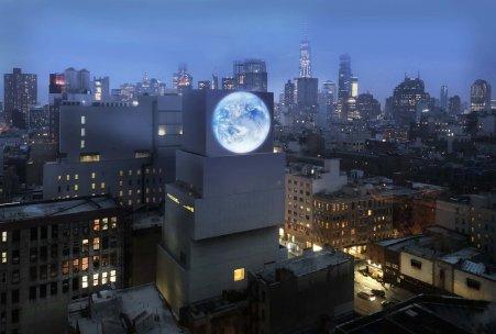 Blue Marble by Sebastian Errazuriz @ New Museum, New York