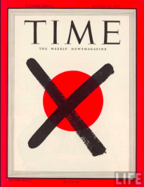 Copertina del TIME dopo la caduta del Giappone, agosto 1945