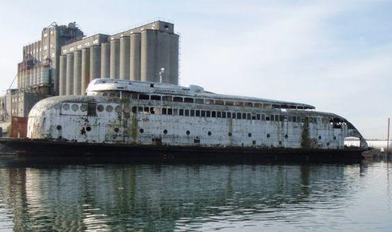 Il Kalakala è l'ultimo dei classici traghetti di Seattle e le sue possibilità di sopravvivere non sembrano buone