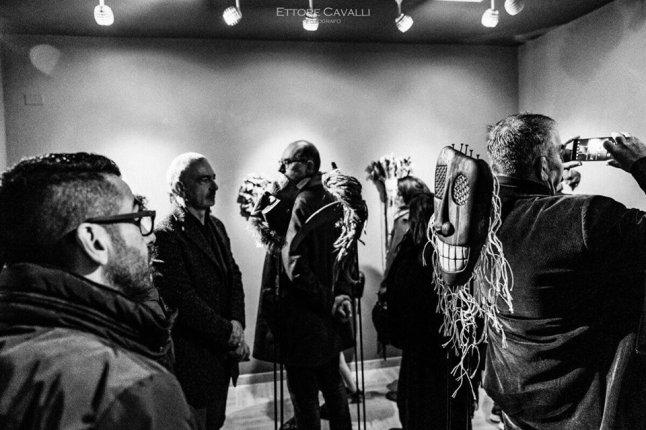 Inaugurazione Premio Maschere d'Artista, Marrubiu - Fotografia di Ettore Cavalli