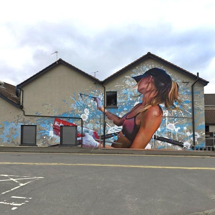 Irony @Belfast, UK