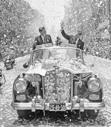 JFK in Messico, 1962