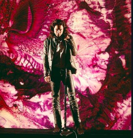 Jim Morrison a New York City, 1968. Foto di Yale Joel