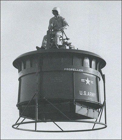 L'Hiller VZ-1 Pawnee (designazione US Army, precedente designazione Army: HO-1) era un unico aereo a rotore a sollevamento diretto, che utilizzava ventilatori canalizzati controrotanti per il sollevamento all'interno di una piattaforma su cui il singolo pilota spostava il peso corporeo per il controllo direzionale. La piattaforma è stata sviluppata a partire dal 1953 con un contratto di Office of Naval Research (ONR) di Hiller Aircraft Corporation, e ha volato con successo, a partire dal 1955