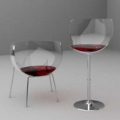 Merlot Chairs by Marta del Valle