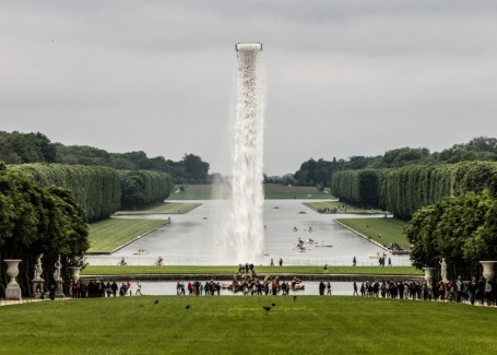 Waterfall (2016) by Olafur Eliasson @ Grand Canal at the Palace of Versailles