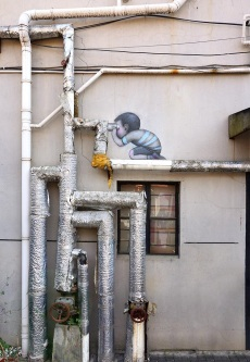 """Periscopes"" by Seth Globepainter @Shanghai, China"