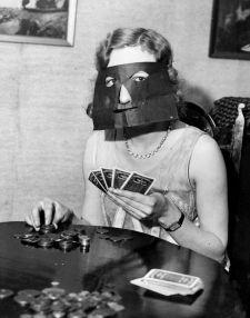 Poker mask
