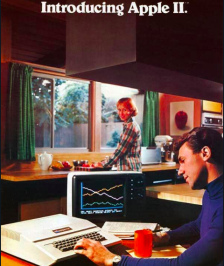 Pubblicità vintage Apple negli anni '70 -'80