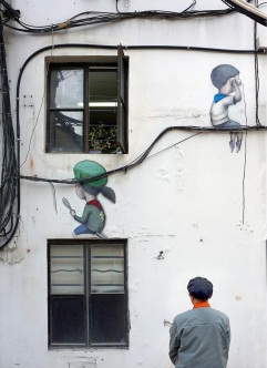 """Social media"" by Seth Globepainter @Shanghai, China"