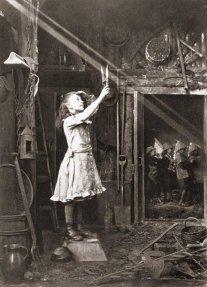 Taglio di un raggio di sole, 1886. Fotografia di Adam Diston
