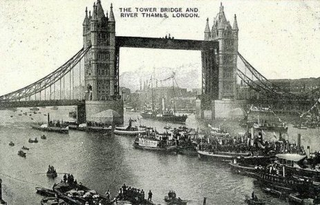 Tower Bridge, Londra, 1909