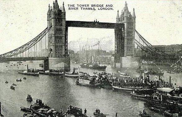Tower Bridge, Londra, 1909