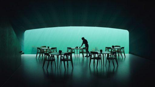 """Under"" by Snøhetta. Photography by Ivar Kvaal"