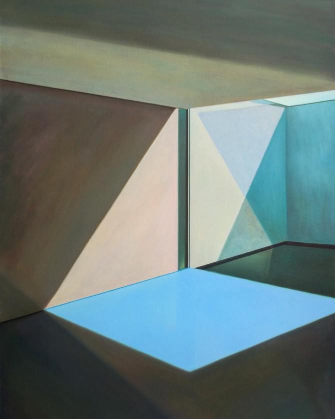 "Zhang Yingnan, ""The Sea"", 2018, oil on canvas for Soka Art Tainan (Level 1, 1B01)   Galleries 2019 @ Art Basel Hong Kong 2019"
