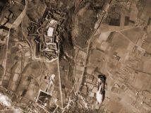 1939. Le forze di Franco bombardano la città di Figueres, in Spagna