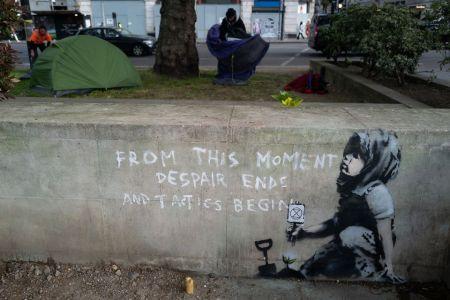 Banksy @ London, UK
