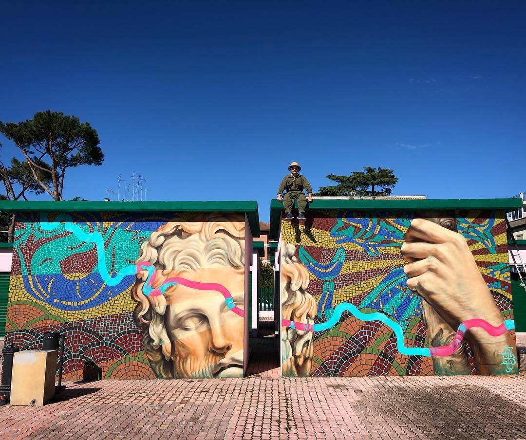 Streetart – Beau Stanton @ Rome, Italy