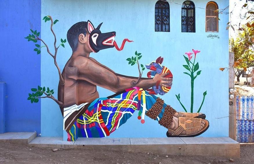 Diske Uno @San Martín Tilcajete, Mexico