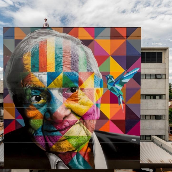 Eduardo Kobra @Porto Alegre, Brazil