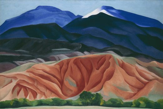 Georgia O'Keeffe, Black Mesa Landscape, New Mexico (1930)