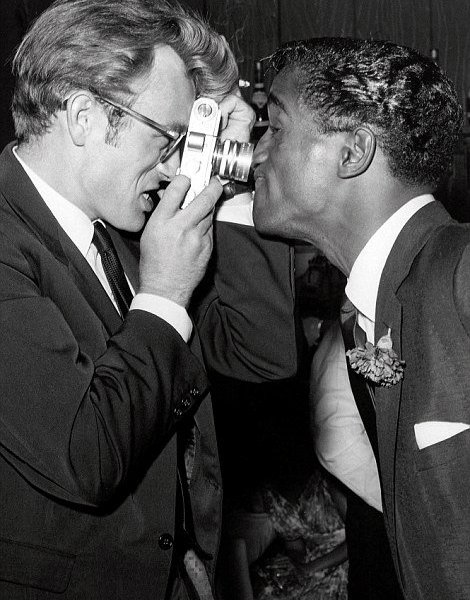James Dean e Sammy Davis Jr. a Villa Capri, 1955
