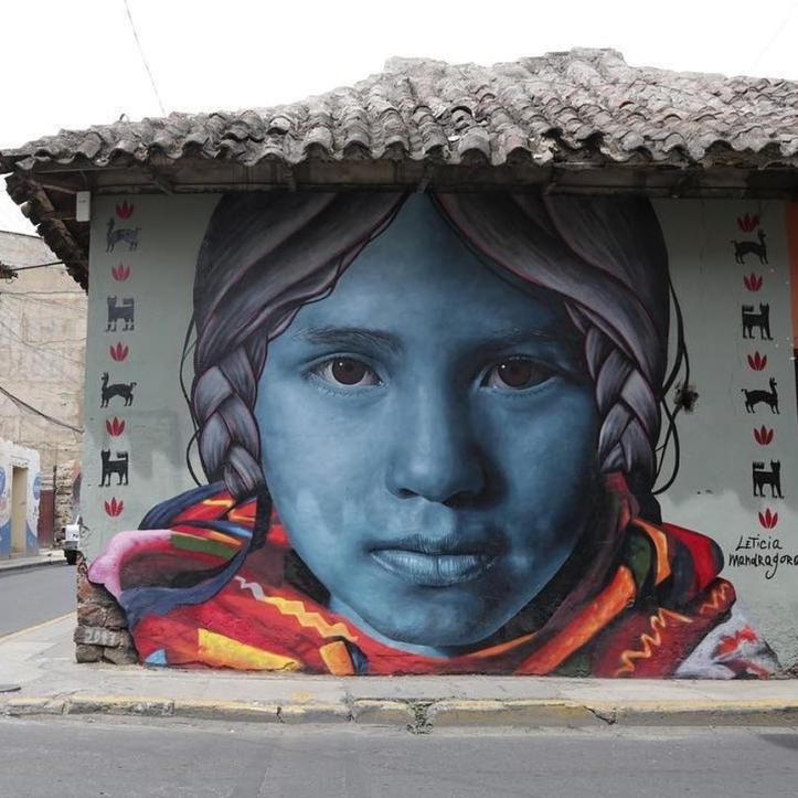 Leticia Mandragora @Cochabamba, Bolivia
