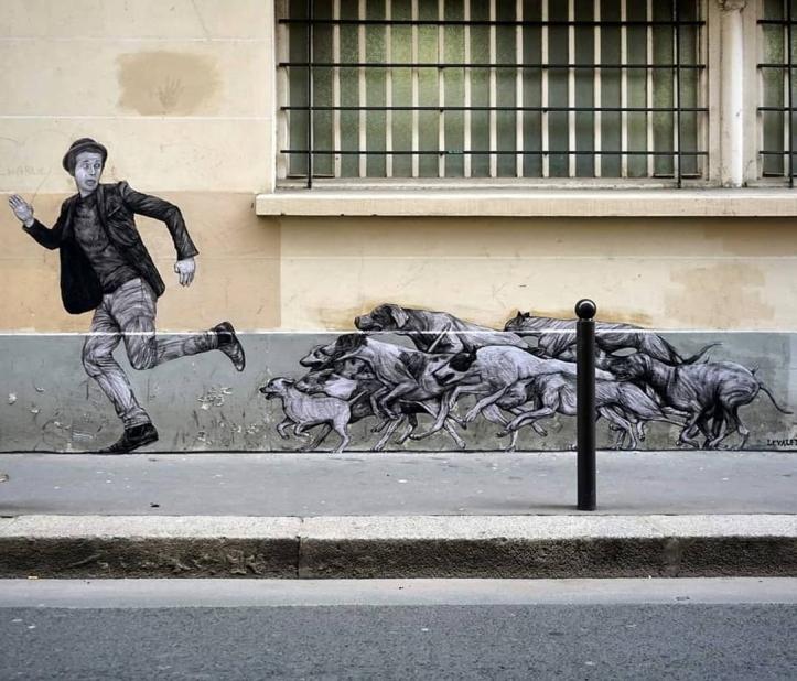 Levalet @Paris, France