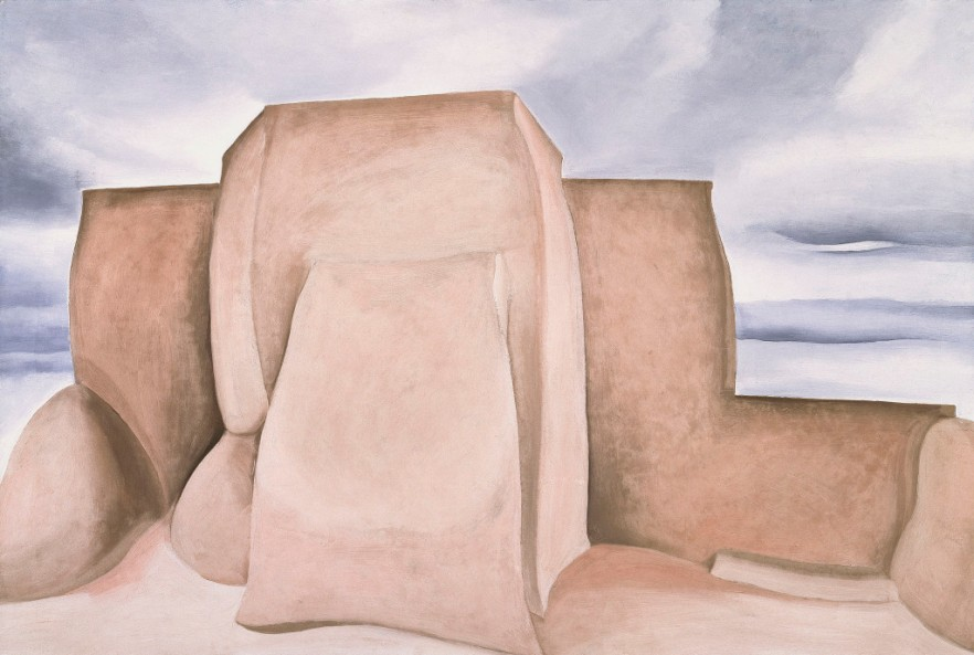 Ranchos Church, New Mexico c/o Georgia O'Keeffe Museum/DACS London