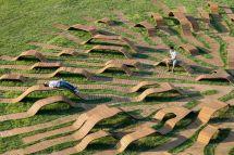 Root Bench by Yong Ju Lee. Photography by Kyungsub Shin