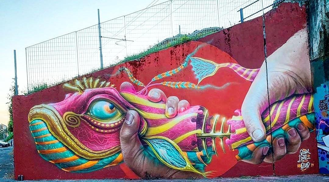 Rosk & Loste + Mr Blob @Milan, Italy