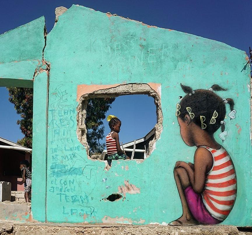 Streetart – Seth Globepainter @ Ravine-Sèche, Haiti