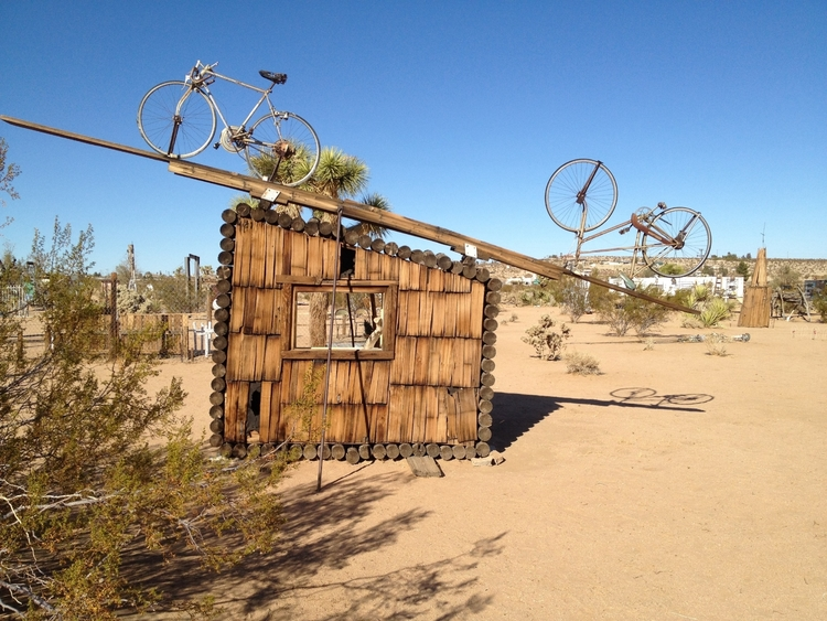 The Noah Purifoy Outdoor Desert Art Museum