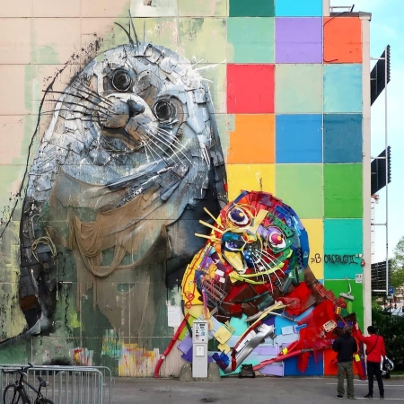 Bordalo II @Kristiansand, Norway