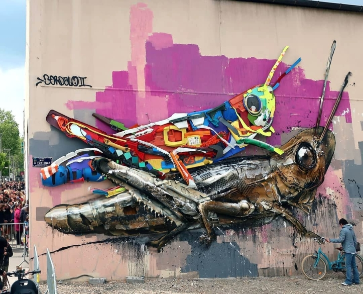 Bordalo II @Lyon, France