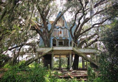 Casa sull'albero in stile vittoriano, in Florida