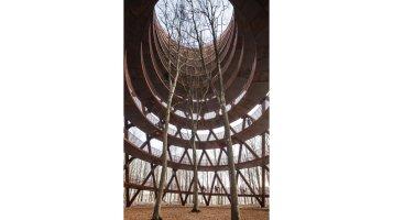 EFFEKT Architects @ Gisselfeld Klosters Skove, Danimarca