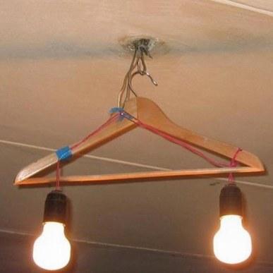 Gruccia lampadario