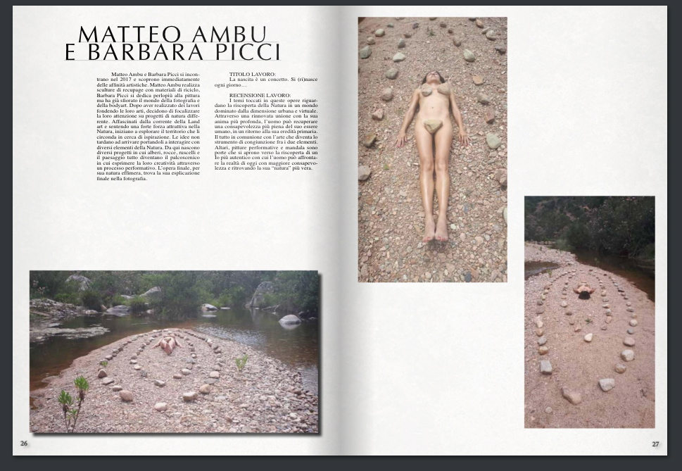 """""""La nascita è un concetto"""" pubblicato su Liburni Arte E Cultura"""