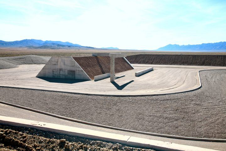 Michael Heizer, 'Complex One, City', (1970-ongoing) | Image © Michael Heizer/Triple Aught Foundation. Photograph by Tom Vinetz