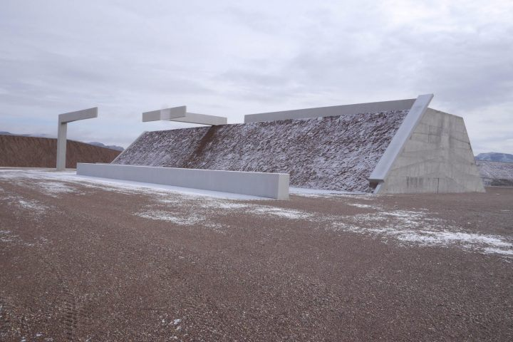 Michael Heizer, 'Complex One, City', (1970-ongoing)   Image © Michael Heizer/Triple Aught Foundation