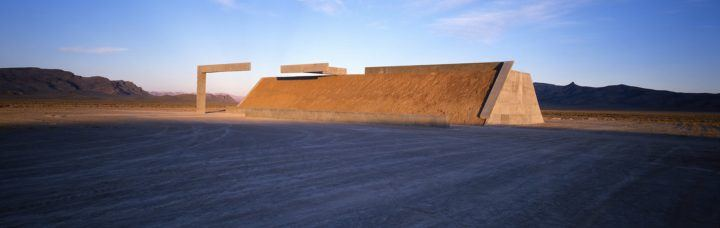Michael Heizer, 'Complex One, City', (1972-ongoing)   Image © Michael Heizer/Triple Aught Foundation