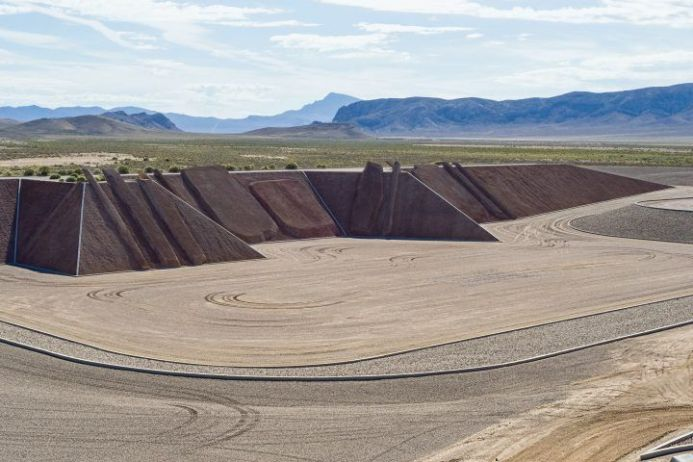 Michael Heizer, 'Complex Two, City', (1970-ongoing)   Image © Michael Heizer/Triple Aught Foundation. Photograph by Eric Piasecki